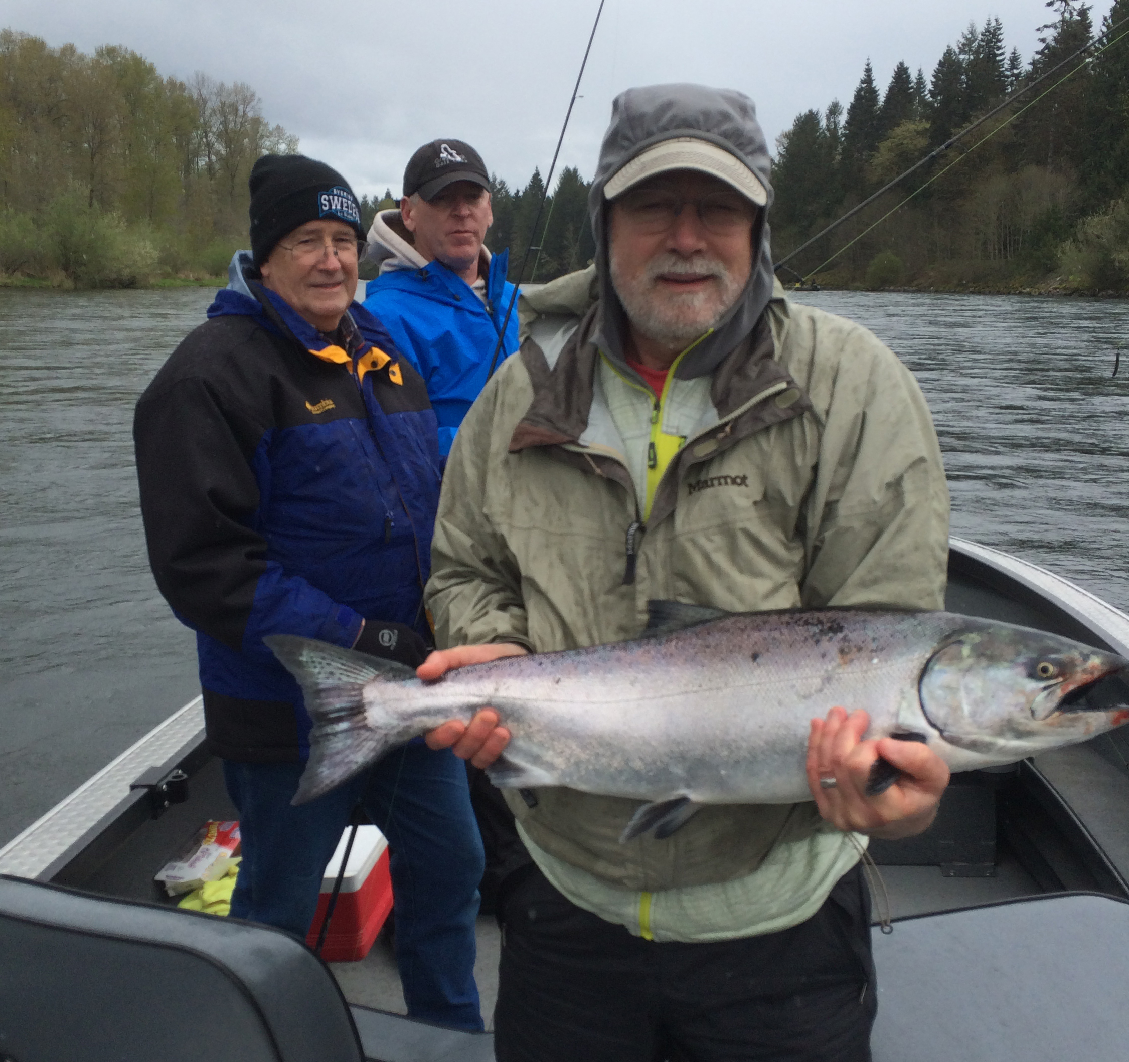 Fish tale guide service washington fishing guide for for Salmon fishing washington rivers