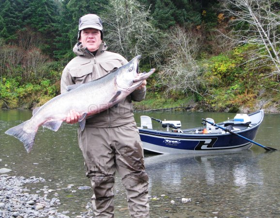 Gallery fish tale guide service washington fishing guide for Hoh river fishing