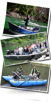 Washington fishing guides rates booking salmon for Fred meyer fishing license