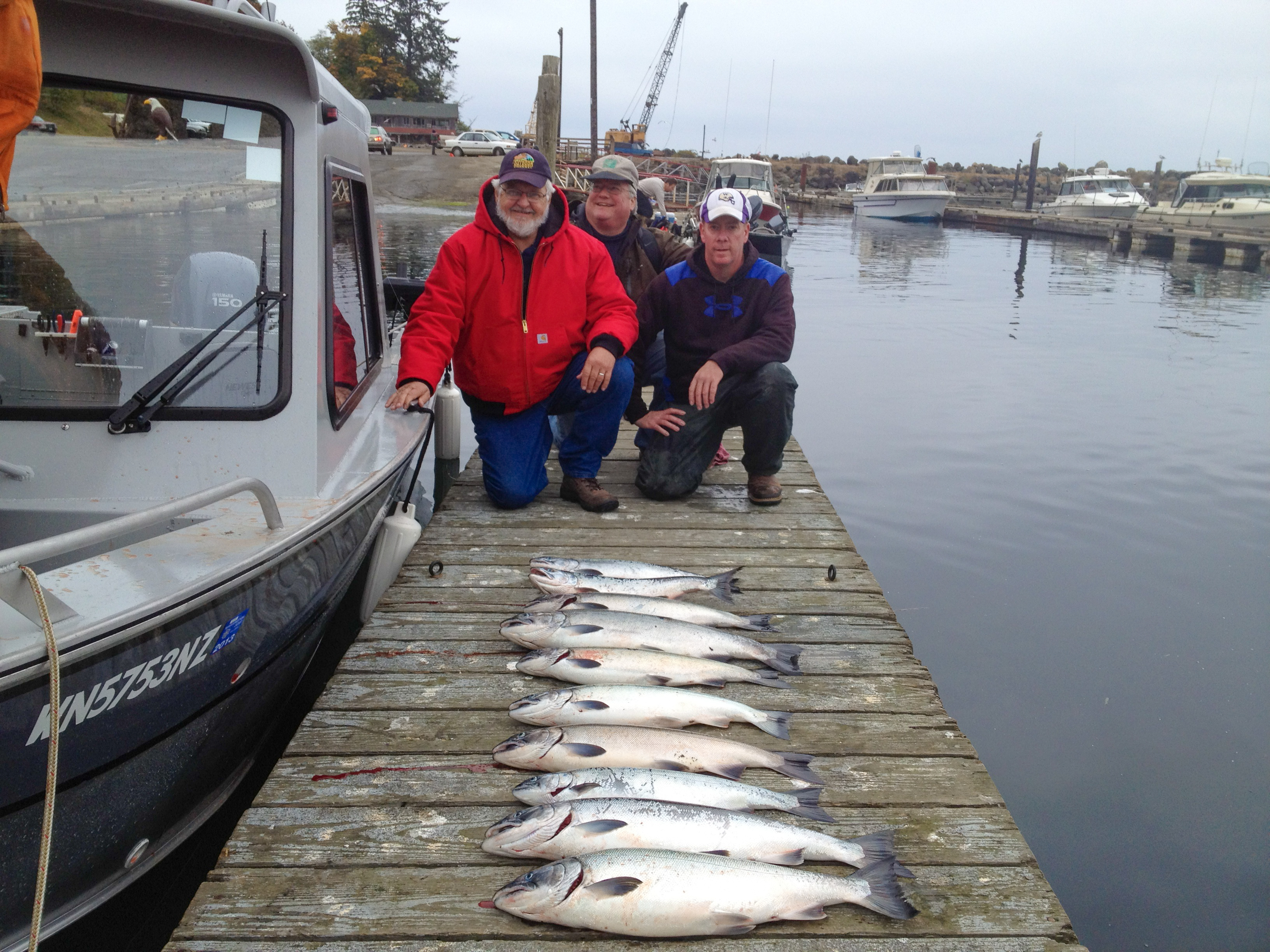 Forks wa fish tale guide service washington fishing for Salmon fishing season washington